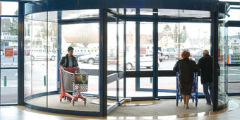 Automatic-Glass-revolving-Doors