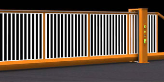 Automatic-Sliding-Gates
